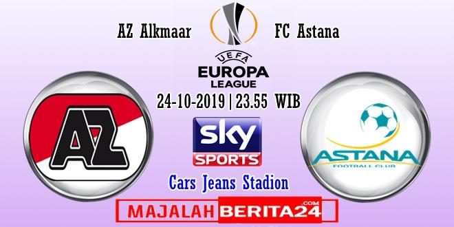 Prediksi Az Alkmaar Vs Fc Astana 24 Oktober 2019 Majalahberita24 Prediksi Bola Akurat Dan Terkini Berita Terupdate
