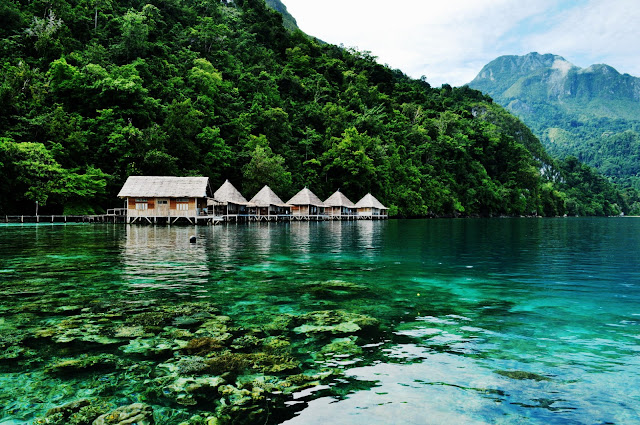 Ora beach - Hidden Paradise in Central Maluku Indonesia