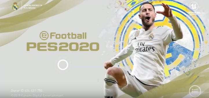 PES 2020 Mobile Patch REAL MADRID