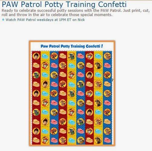 Serpentinas de Paw Patrol o Patrulla Canina para Imprimir Gratis.