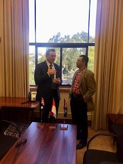 Koneksikan NTB-Darwin, Gubernur Siapkan Mimpi Besar