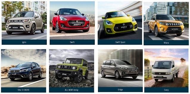 Daftar Harga Mobil Suzuki Terbaru Semua Tipe Tahun 2020