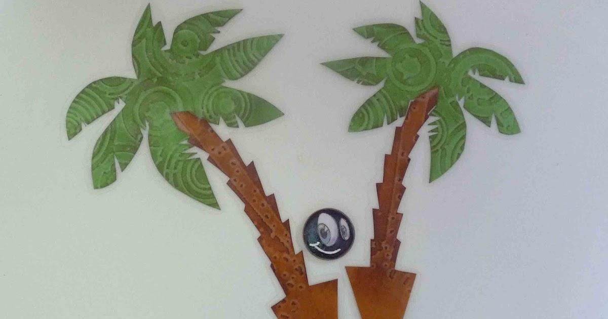 bastelkaffee tortendeko palmen. Black Bedroom Furniture Sets. Home Design Ideas