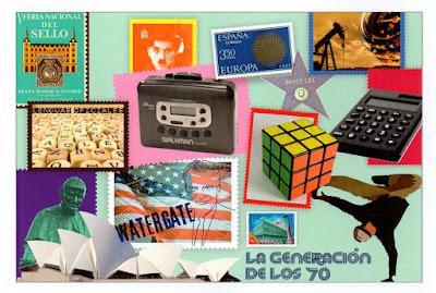Tarjeta de la Generación de los 70