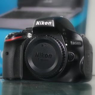 Kamera DSLR Nikon D5100 BO Second di Malang