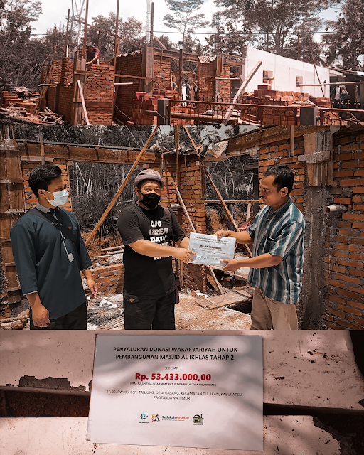 Penyaluran Donasi Masjid Al Ikhlas Tahap #2