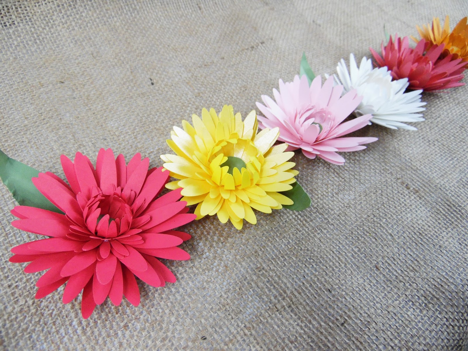 Mamas Gone Crafty The Perfect Paper Daisy
