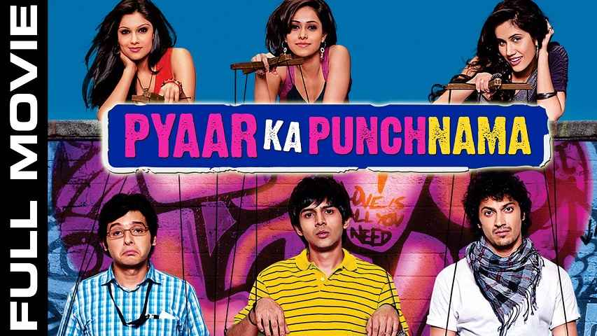 Pyaar Ka Punchnama (2011) Hindi 720p BRRip 900MB