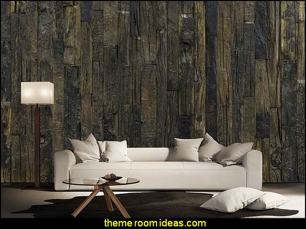 Antique Wood wallpaper mural