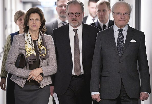 Queen Silvia visited the Swedish National Council for Crime Prevention