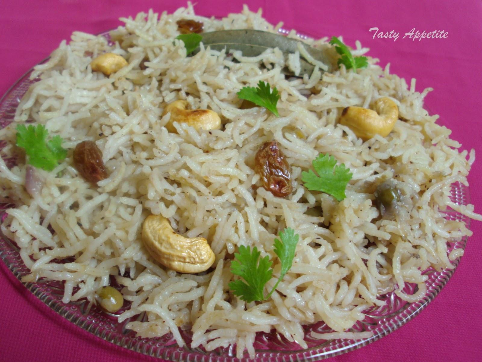 Best Food Recipes In Sri Lanka Ghee Rice