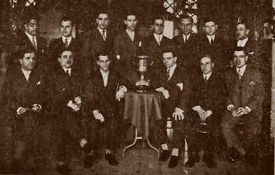 Equipo del Ruy López-Tívoli en 1930