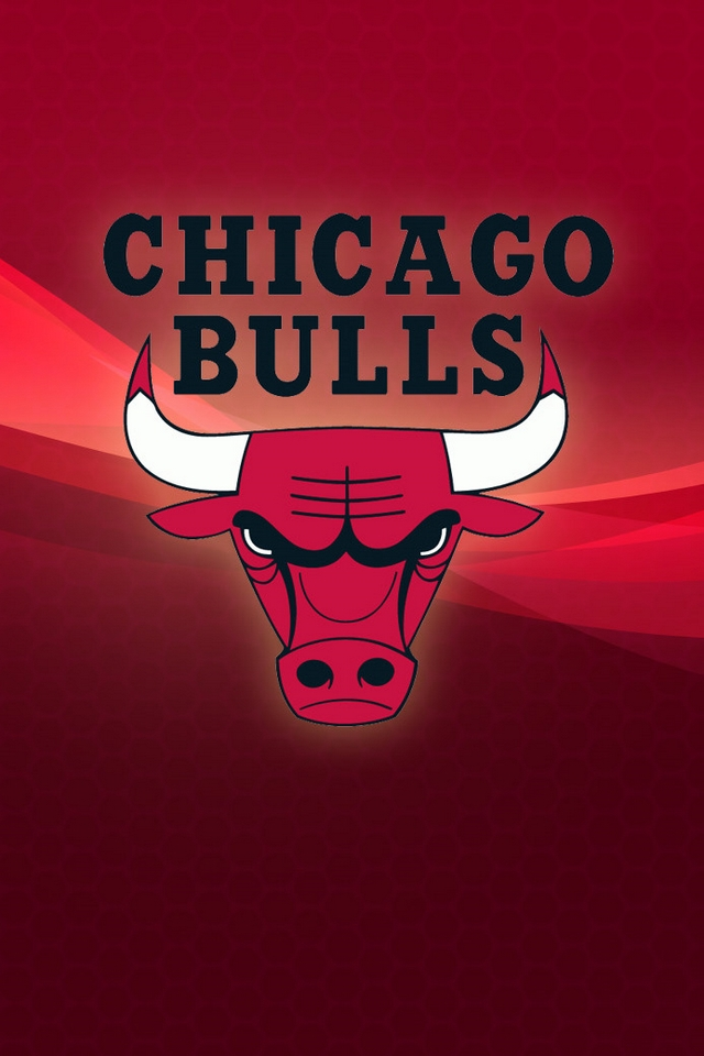 Chicago Bulls logo - Download iPhone,iPod Touch,Android Wallpapers, Backgrounds,Themes