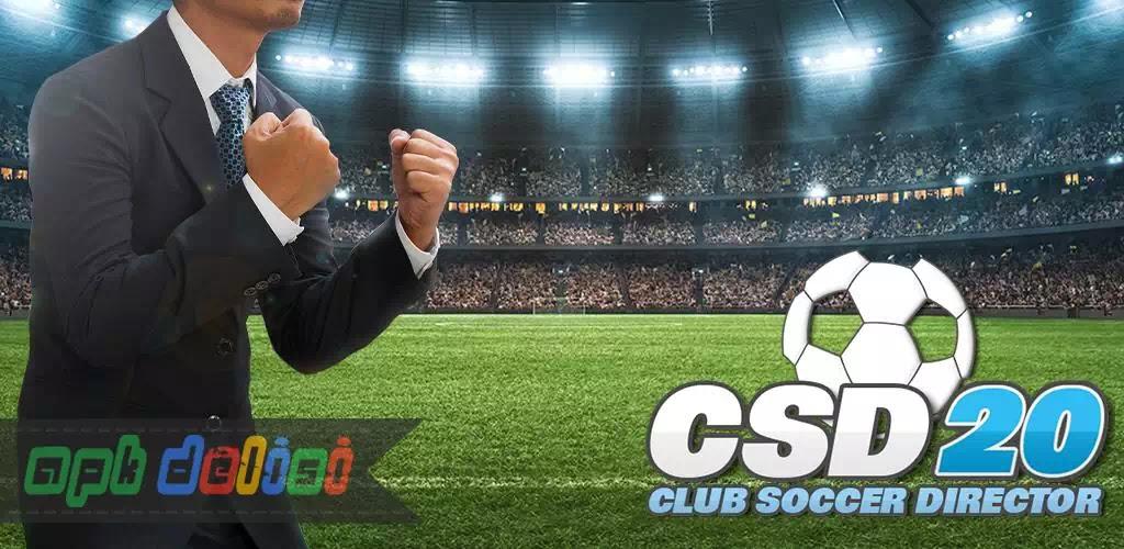 Club Soccer Director 2020 v1.0.65 MOD APK — PARA HİLELİ