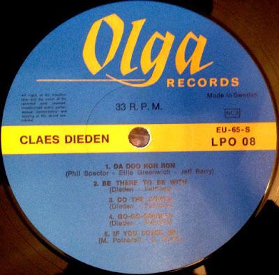 Claes Dieden - Da-Doo-Ron-Ron (1969 )