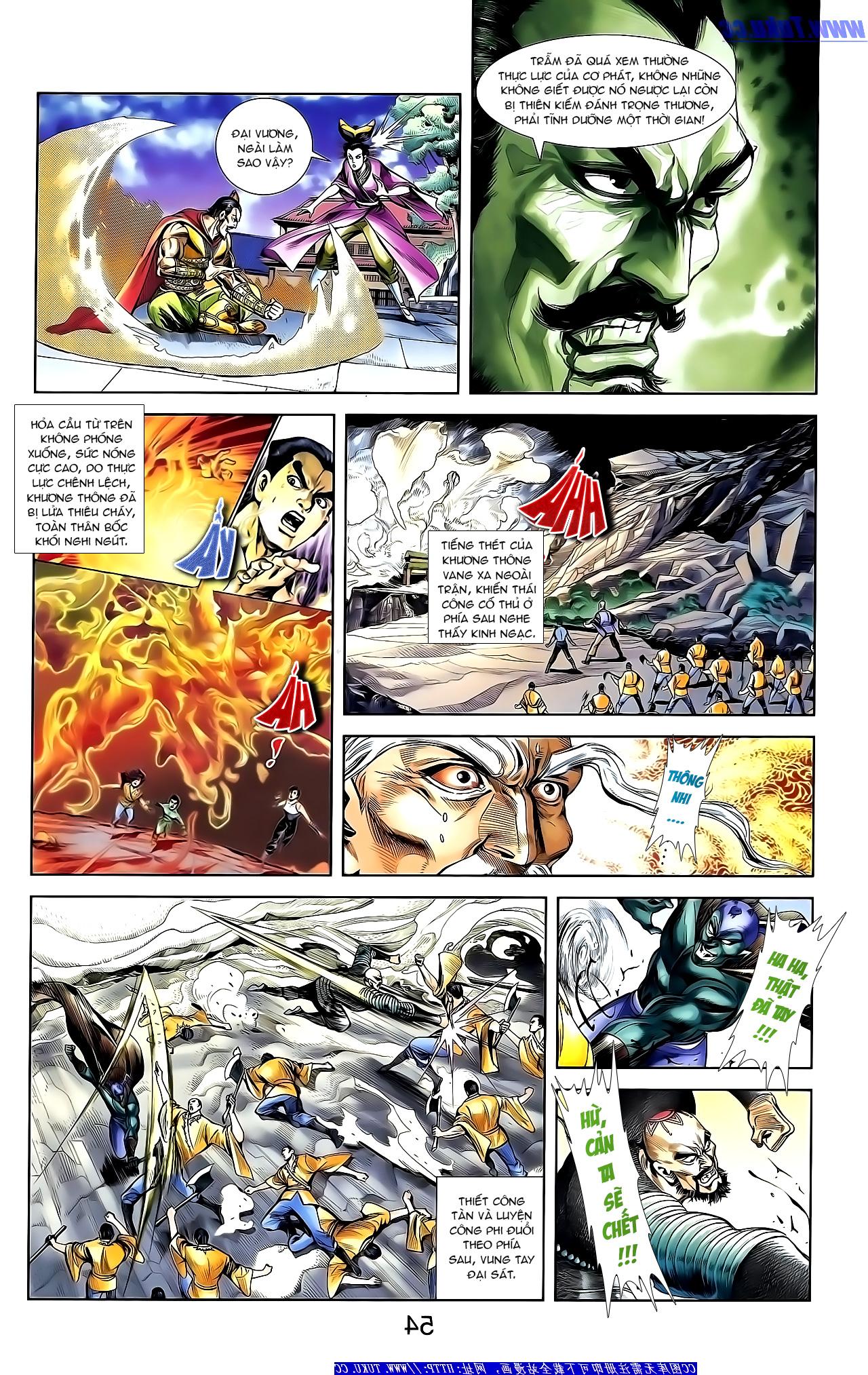 Cơ Phát Khai Chu Bản chapter 154 trang 12