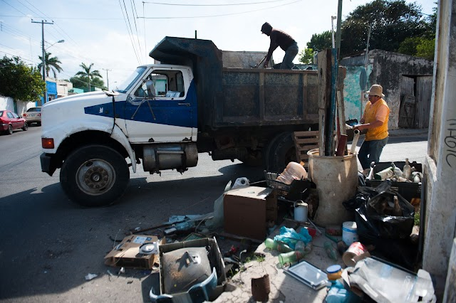 Recolectan más de 1,500 tons de cacharros en Mérida