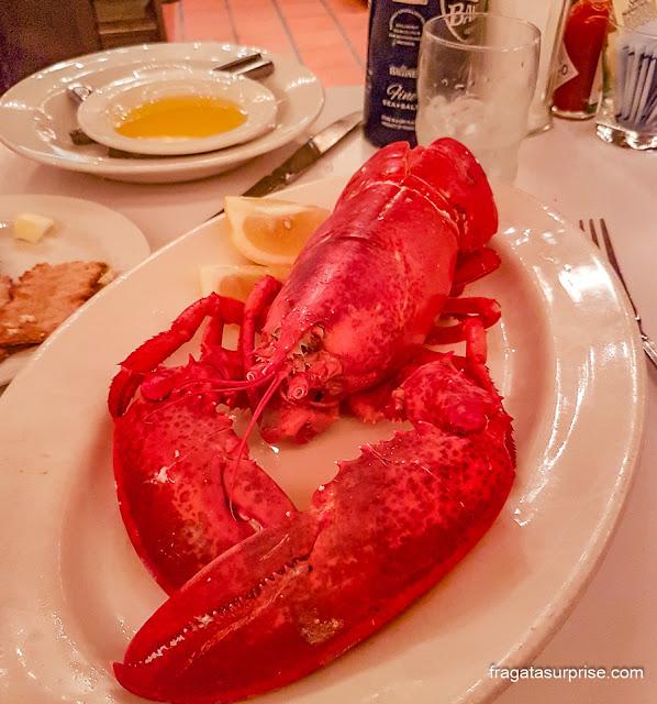 Comer em Nova York: lagosta do Oister Bar