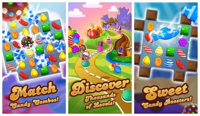 تحميل لعبة كاندي كراش الشهيرة Candy Crush Saga للاندرويد