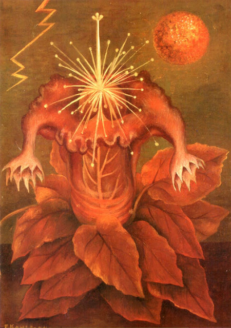 Фрида Кало - Цветок жизни (Пламенный цветок). 1943