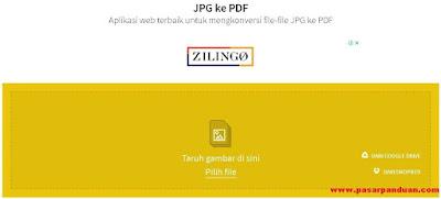 Aplikasi Konversi File JPG Menjadi PDF Dengan HP/Laptop