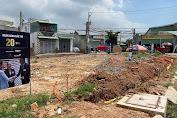 Một công ty bất động sản ở Bình Dương ngang nhiên xây dựng không phép, chủ đầu tư dự án bị phạt 40 triệu đồng