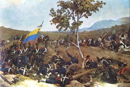 Batalla de Carabobo Martín Tovar y Tovar