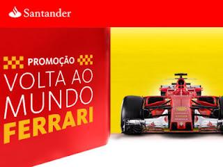 Promoção Volta Ao Mundo Ferrari