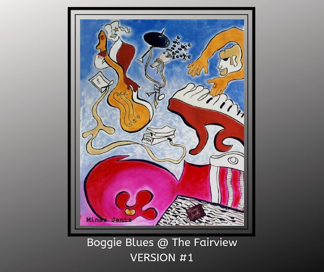 Boogie Blues at the Fariview Bar by Minaz Jantz