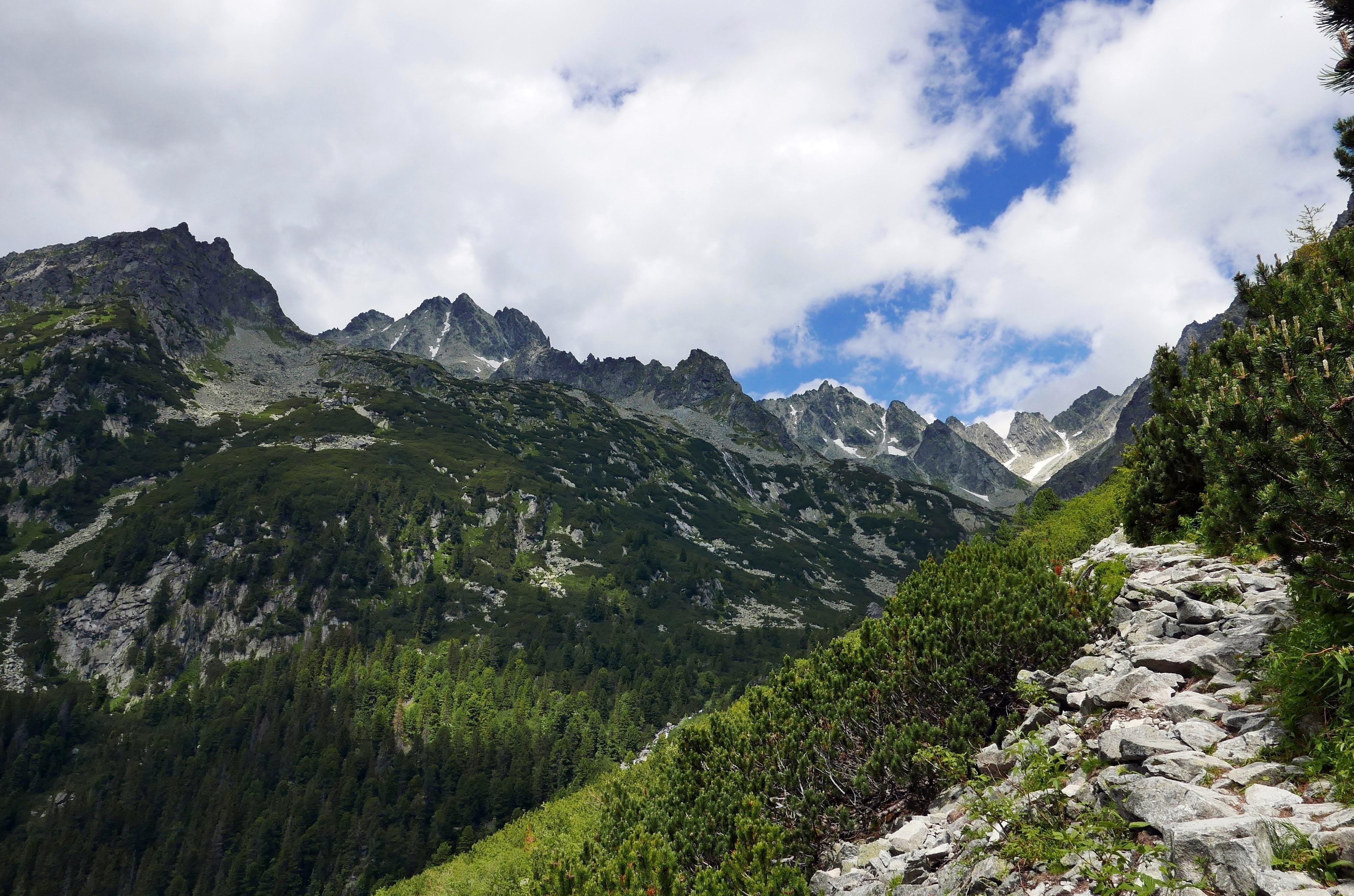 Słowacja, Tatry: szlak na Rysy