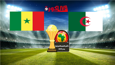 مباراة السنغال والجزائر