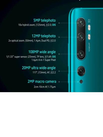 Spesfikasi dan Harga Xiaomi Mi Note 10