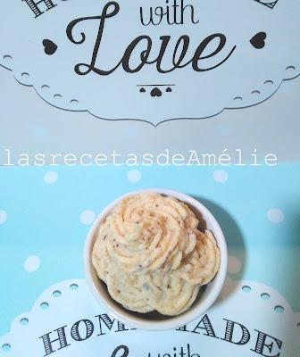frosting, avellanas, decoración, cupcakes