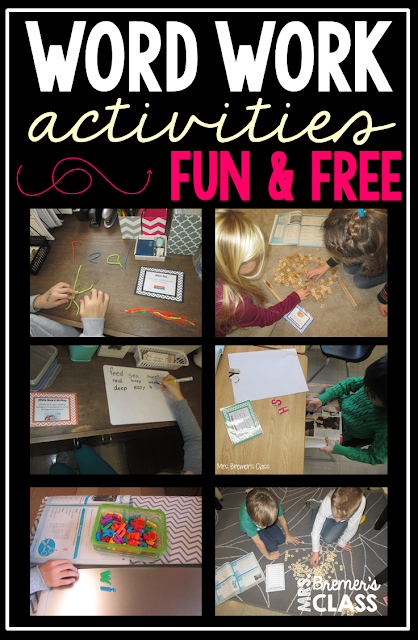 Tons of engaging activity ideas to practice spelling words!