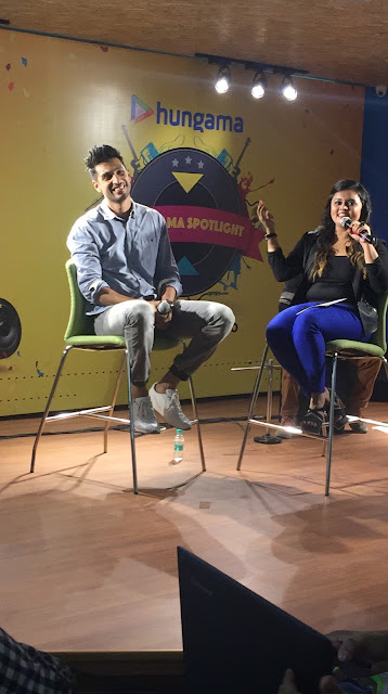 Arjun Kanungo dedicates rendition of 'Humma Humma' to his idol AR Rahman during performance at the Hungama.com office