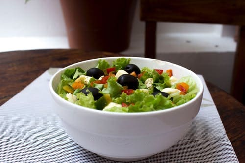 How to make a fast and nutritious salad