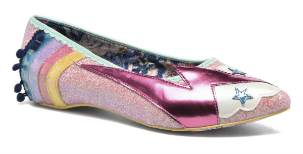 Irregular Choice ground control pink