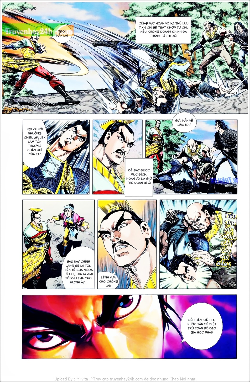 Tần Vương Doanh Chính chapter 24 trang 5