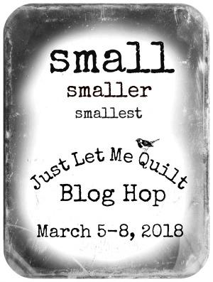Quilt Doodle Doodles Small Smaller Smallest Blog Hop