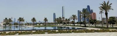 Emiratos Árabes Unidos, Abu Dhabi o Abu Dabi, Palacio de la Nación o Qasr Al Watan.