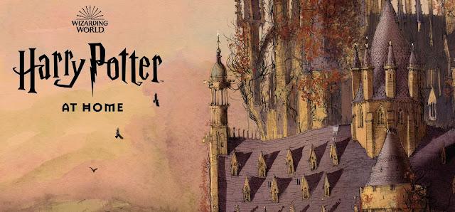 'Harry Potter At Home': novo portal do Mundo Bruxo é lançado para manter as crianças ocupadas em casa durante isolamento social   Ordem da Fênix Brasileira
