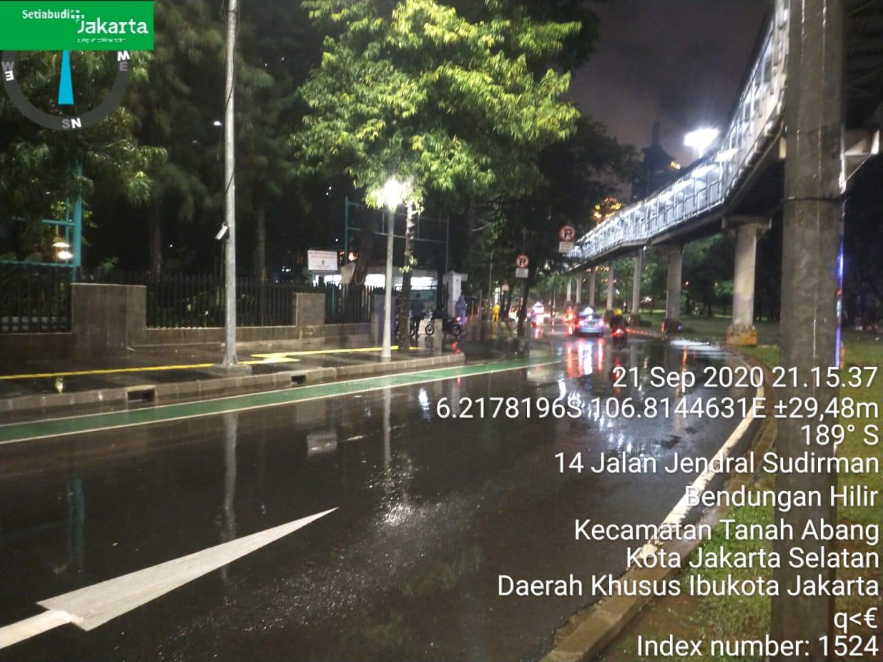 Malam Jakarta Banjir, Paginya Langsung Surut