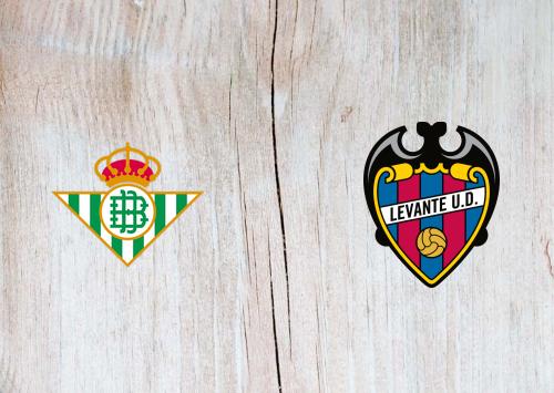 Real Betis vs Levante -Highlights 24 September 2019