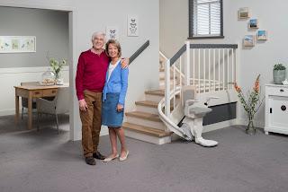 Krzesełko schodowe dla niepełnosprawnych - model Otolift ONE