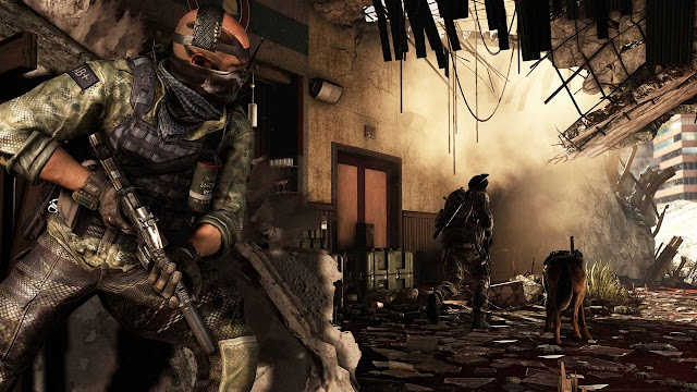 Gameplay Call of Duty Ghosts Walkthrough