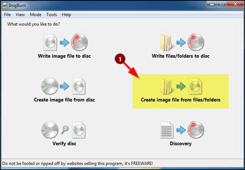 create image file