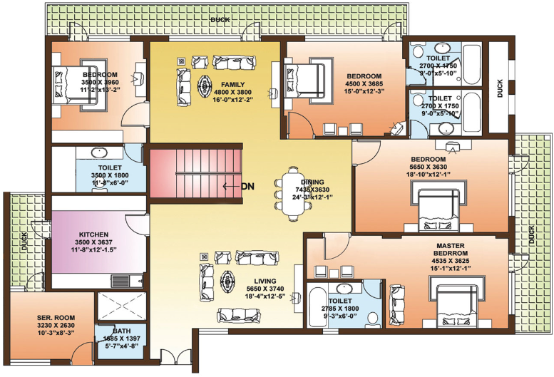 floor plan feng shui march 2016