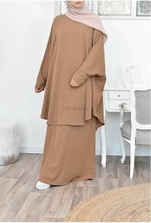 Inspirasi baju lebaran kasual simple