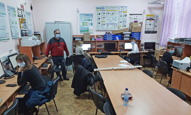Валерій Пичко у ДНТУ (м. Покровськ)