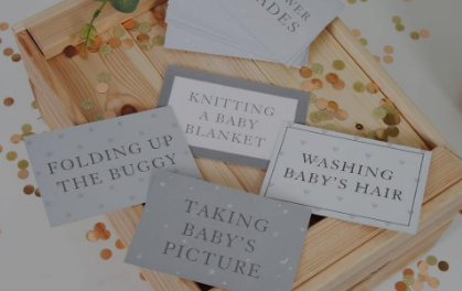 Baby Blankets and Baby Shower Games
